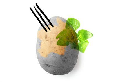 RECETAS DEL CHEF: Focaccia de patata